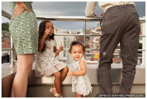 Seoul Family Photographer Itaewon Rooftop