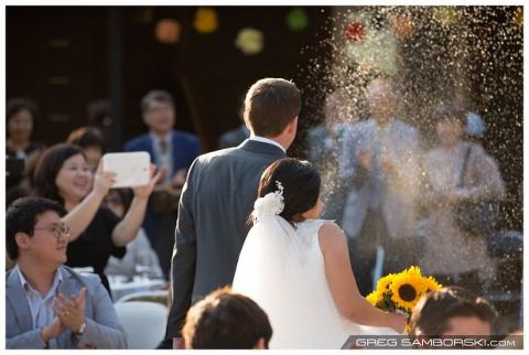 Outdoor Wedding Korea Pension Wedding