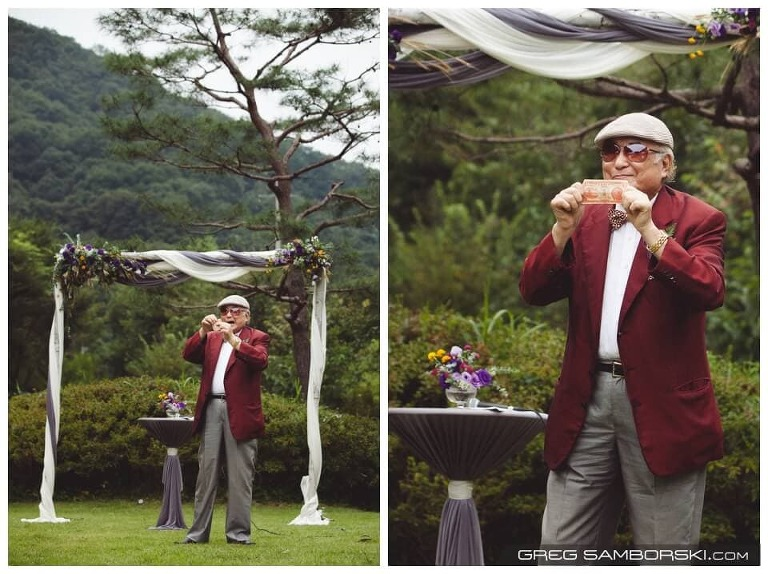 Korea Outdoor Wedding Pension